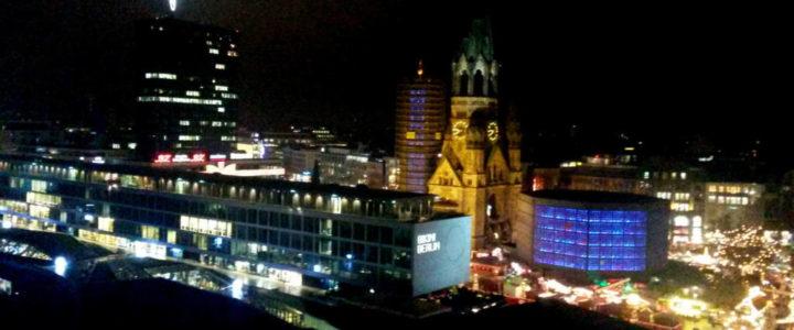 Jazzduo über den Dächern von Berlin