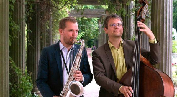 Jazzduo aus Berlin bei einer Hochzeit
