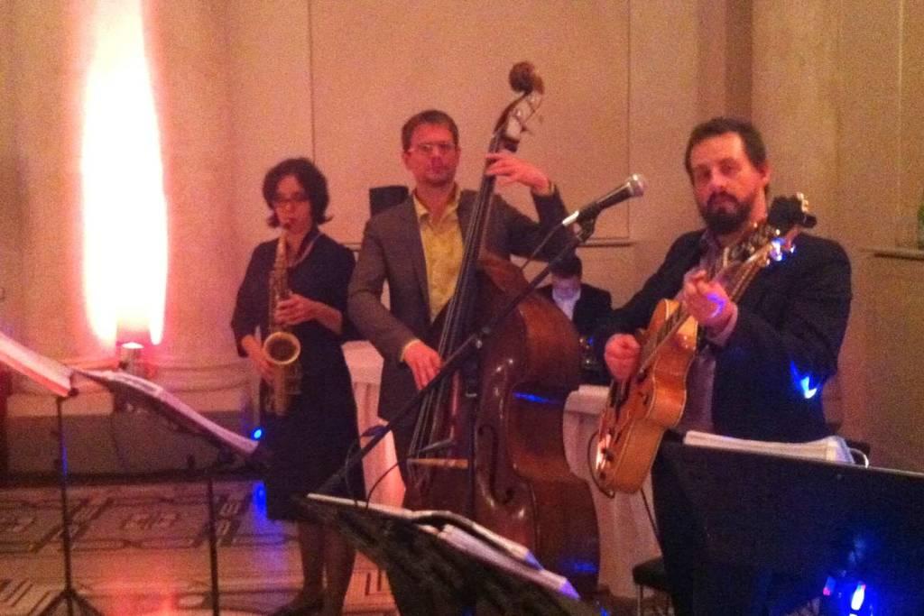 Jazztrio Berlin bei einer Hochzeit in Berlin