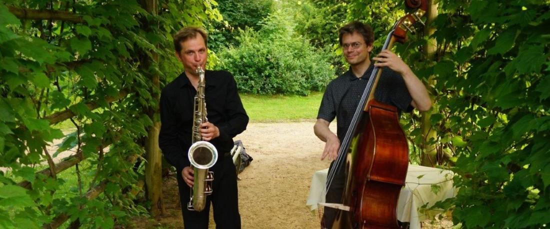 Jazzduo bei einer Hochzeit in Potsdam
