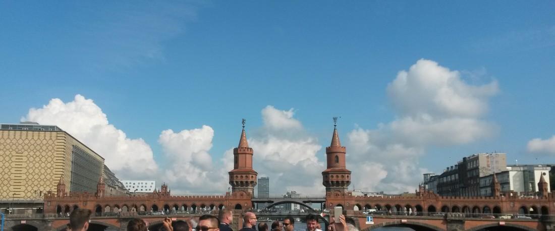 2 Jazzduos auf der Spree in Berlin