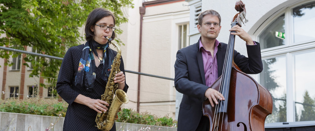 Jazzduo in Berlin-Dahlem