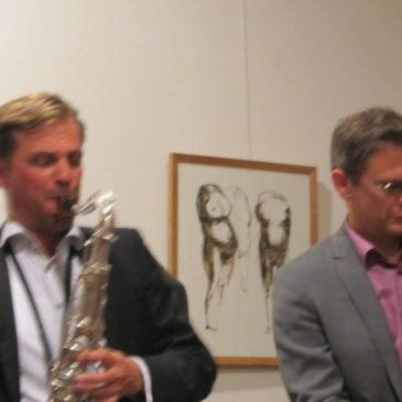 Jazzduo in Trebnitz (Brandenburg)