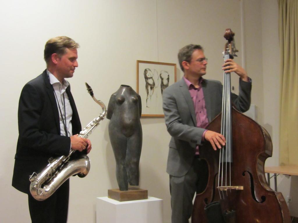 Jazzduo in Trebnitz