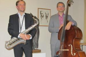 Jazzduo in Brandenburg
