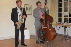 Jazzduo bei Event in Brandenburg