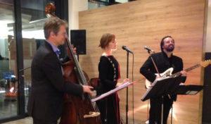 Jazzband aus Berlin spielt in Leipzig mit Sängerin