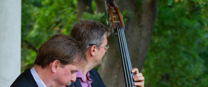 Jazzduo bei einem Firmenevent in Kladow