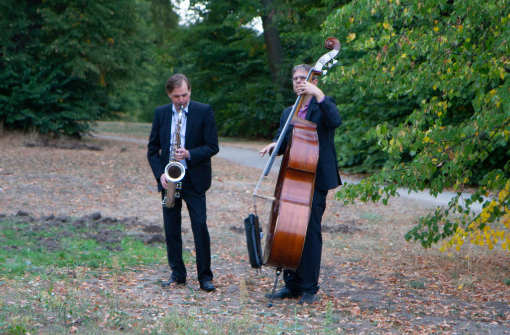 Jazzduo open air am Wannsee