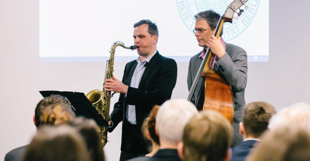 Konzert mit Saxophon und Kontrabass in Berlin