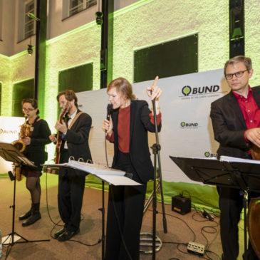 Jazztrio mit Gesang beim BUND in Berlin-Mitte