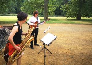 Jazztrio bei einer Hochzeit in Brandenburg